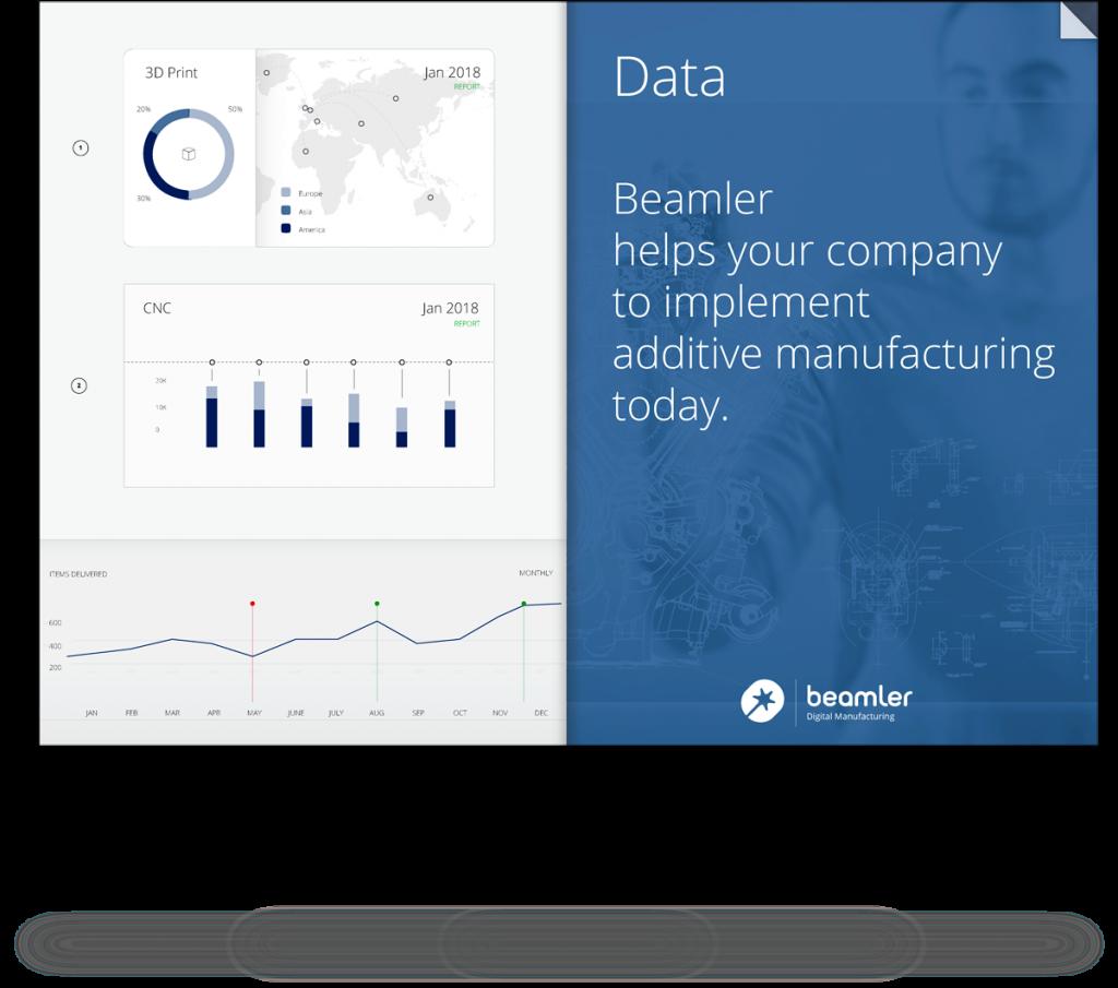 3D printing data report