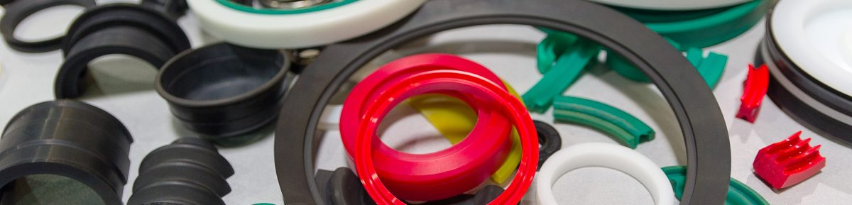3D printing rubber rings and seals